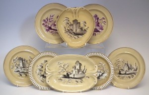 Drabware, painted, Lakin, early 19th century