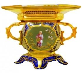 Mason ironstone china, decoration after Pillement