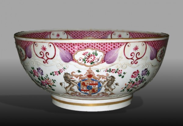 Samson copy of Chinese porcelain punch bowl